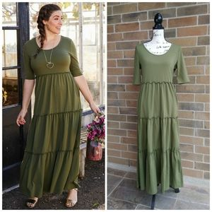 Matilda Jane Maxi Boho Dress Brilliant Day